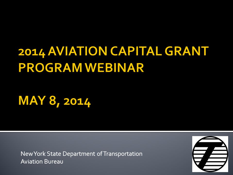 New York State Department of Transportation Aviation Bureau