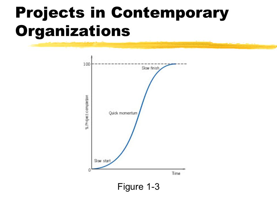 Projects in Contemporary Organizations Figure 1-3