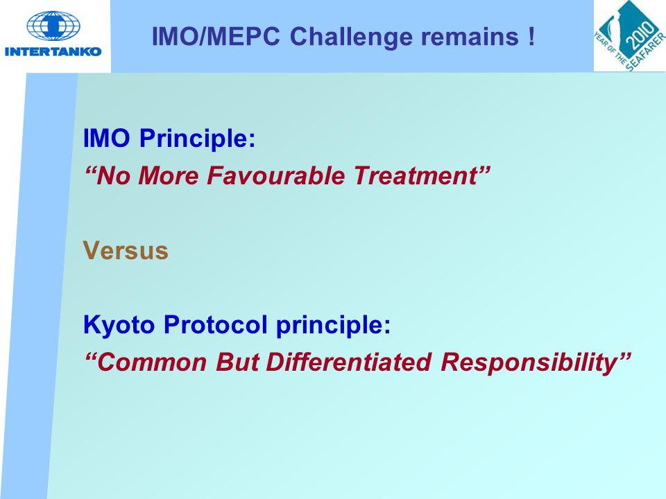 IMO/MEPC Challenge remains .