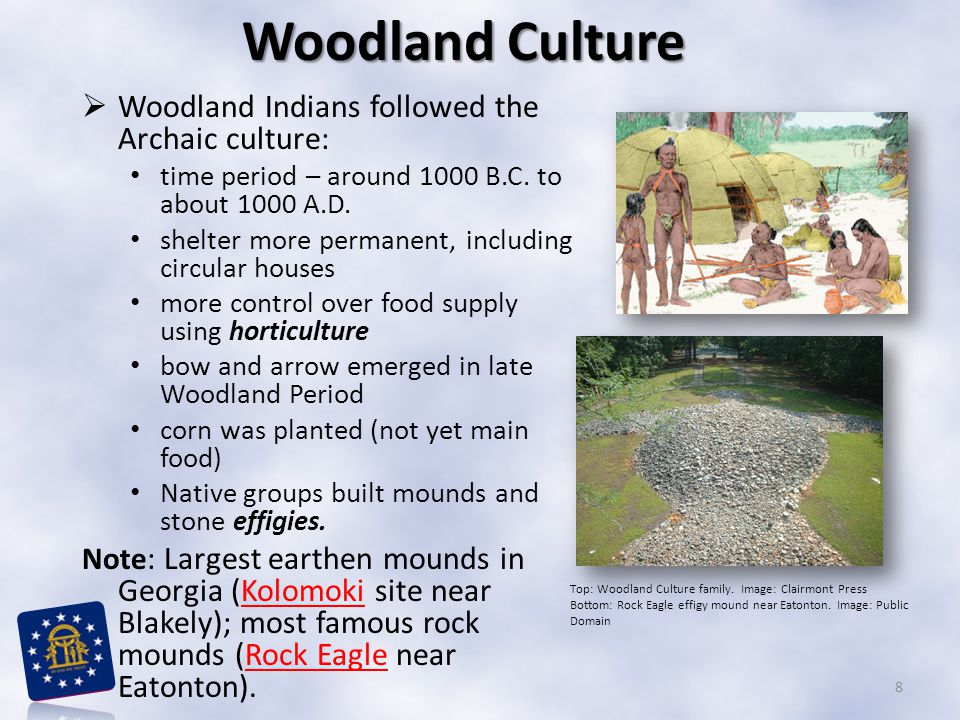 Mississippian Culture  The next period of Native American development (following Woodland ) is the Mississippian culture: Mississippian culture time period – about 800 to 1600 A.D.