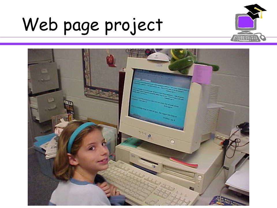 Web page project