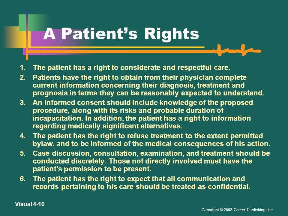Copyright © 2002 Career Publishing, Inc. Visual 4-9 guardian and authorized treatment.