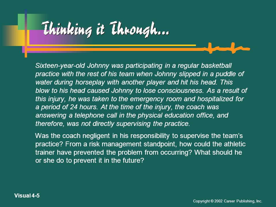 Copyright © 2002 Career Publishing, Inc.Visual 4-15 Avoiding Legal Wrong-Doing, Cont.