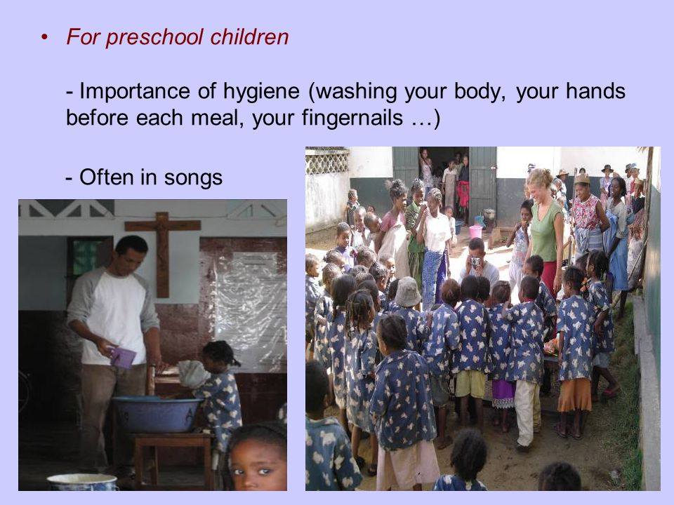 §2. Vaccination program –Against:- poliomyelitis, - measles, - tuberculosis, - tetanus.