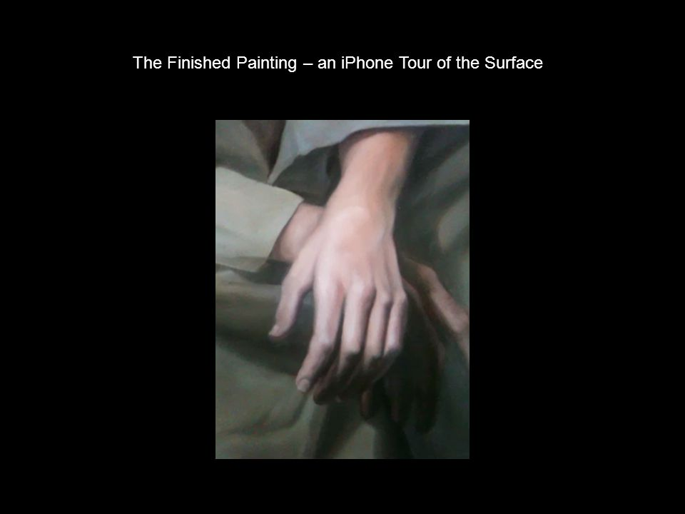 The Finished Painting – an iPhone Tour of the Surface