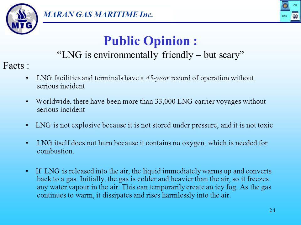 "MARAN GAS MARITIME Inc. 23 Public Opinion : ""LNG is environmentally friendly – but scary"""