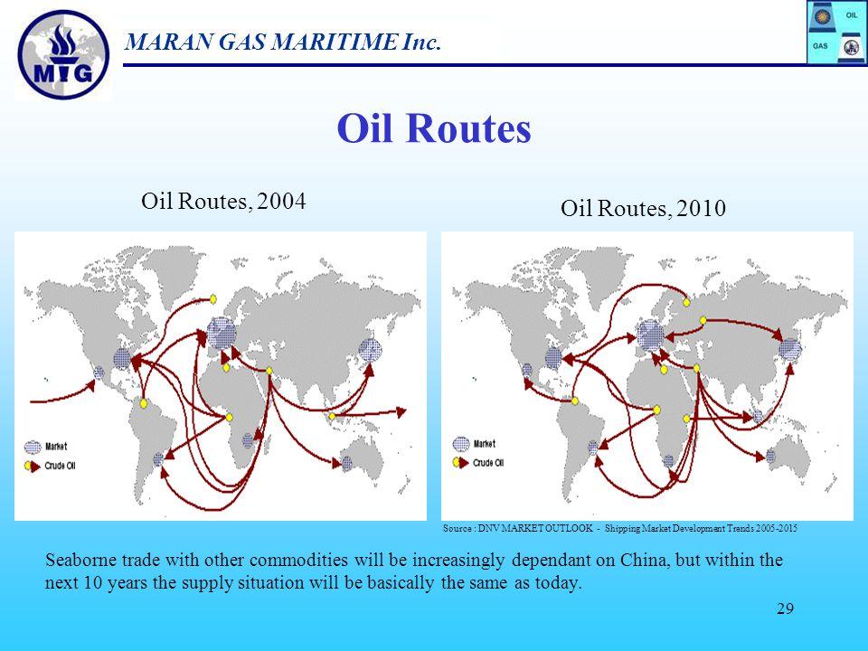 MARAN GAS MARITIME Inc. 28 5. LNG Impact on Oil Tanker Industry
