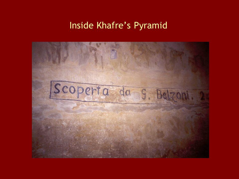 Inside Khafre's Pyramid
