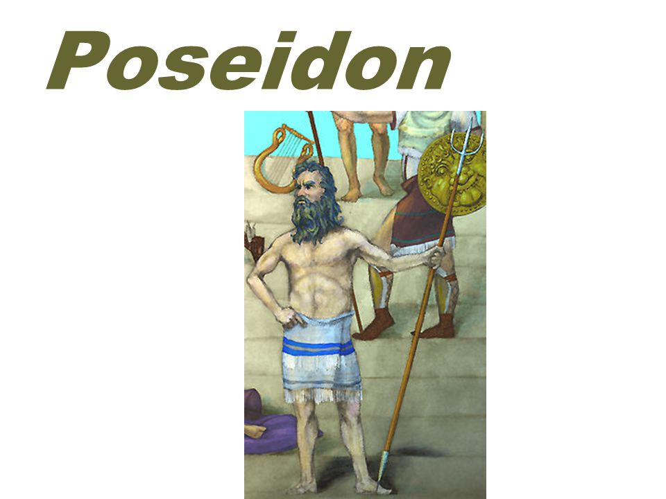 famous ( 有名的 ) Poseidon was not so well-disposed( 好心的 ) toward another famous hero.