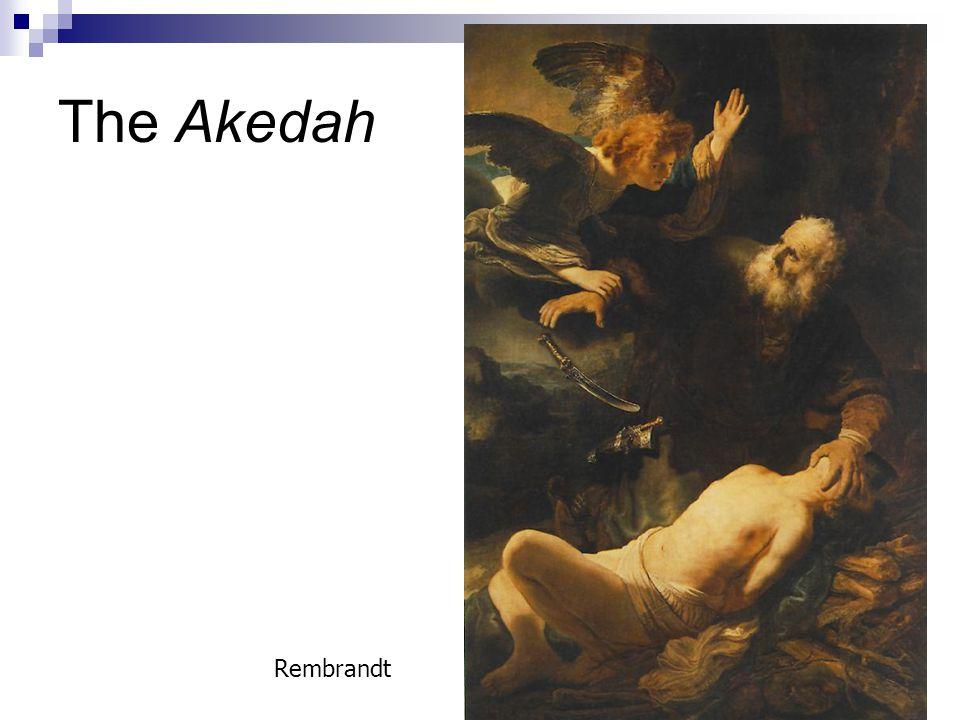 The Akedah Rembrandt