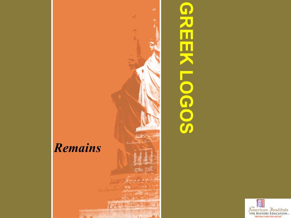 GREEK LOGOS Remains