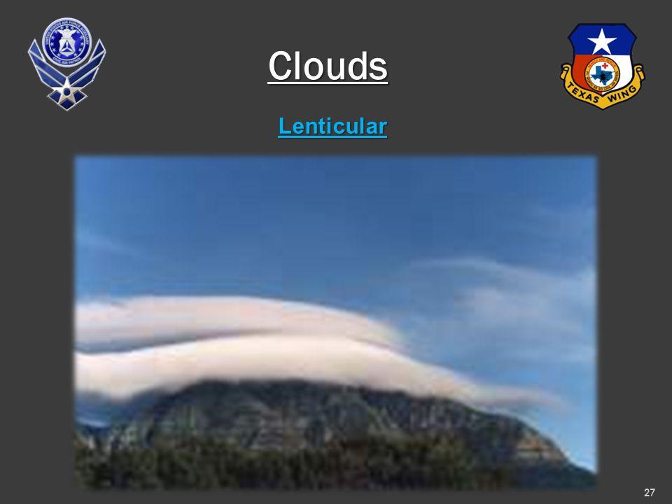 Lenticular 27 Clouds
