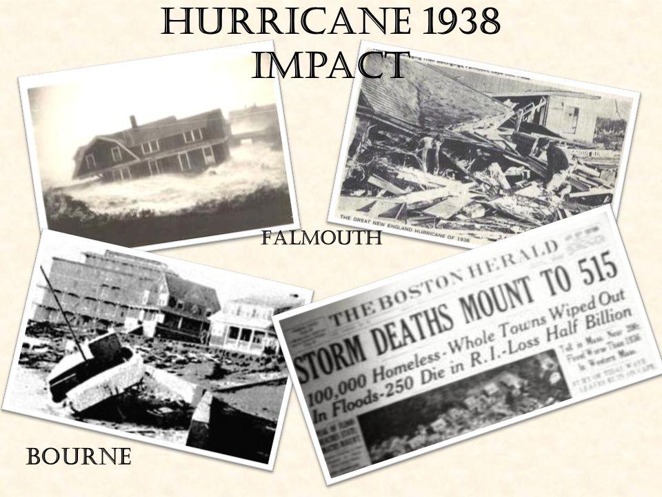 Hurricane 1938 Impact