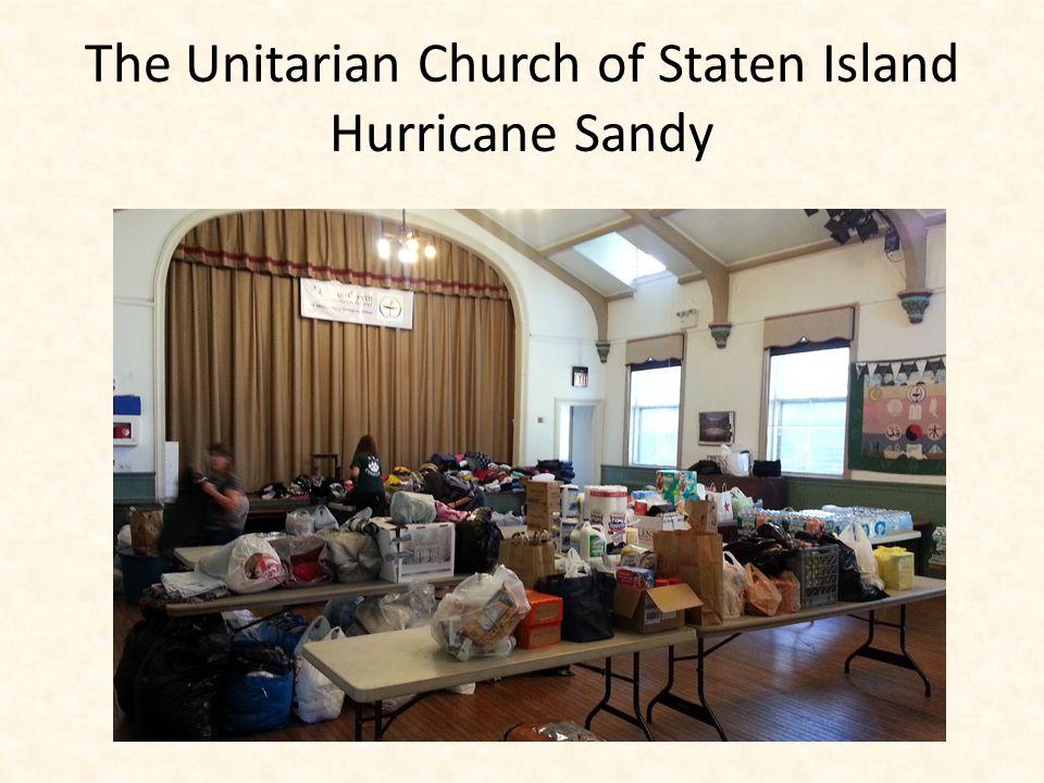The Unitarian Church of Staten Island Hurricane Sandy