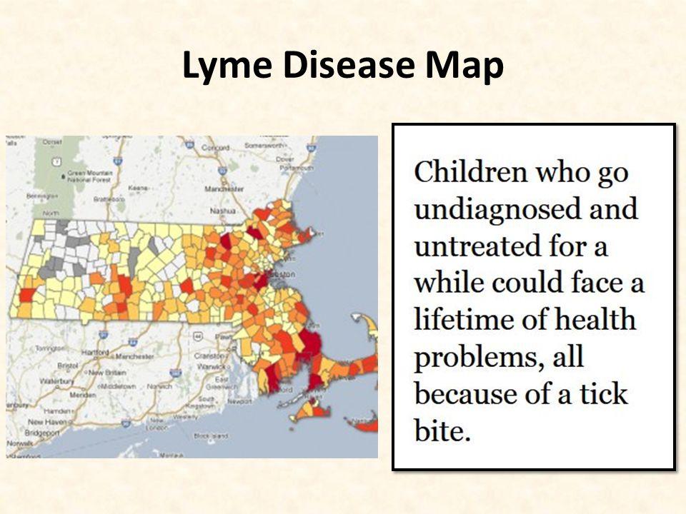 Lyme Disease Map