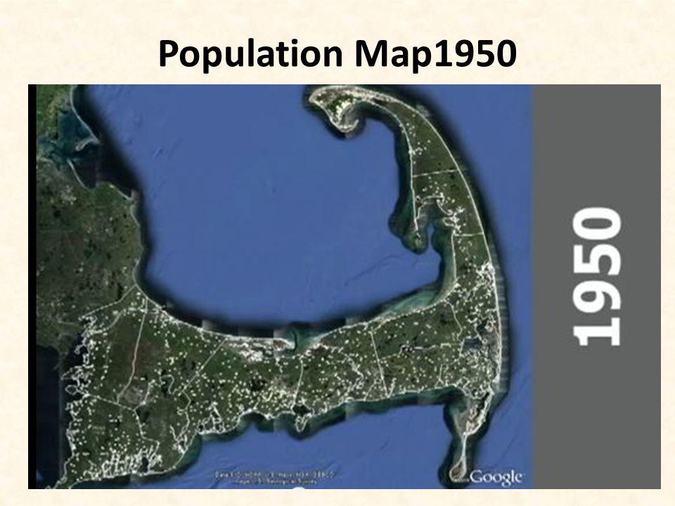 Population Map1950