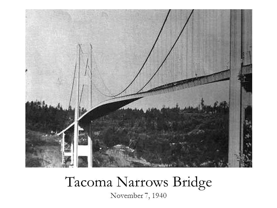 Tacoma Narrows Bridge November 7, 1940