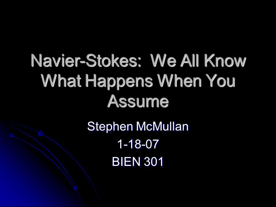 Navier-Stokes