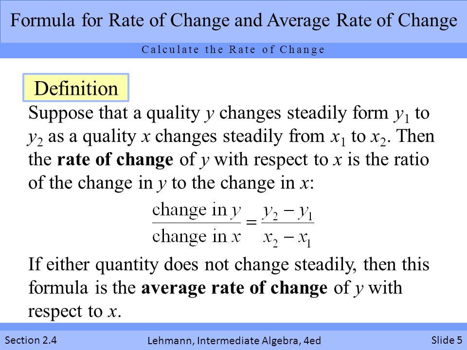 Lehmann, Intermediate Algebra, 4ed Section 2.4 1.The number of fires in U.S.