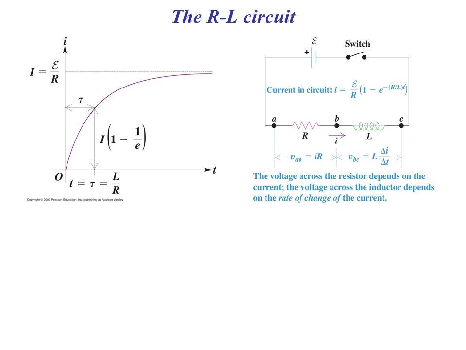 The R-L circuit