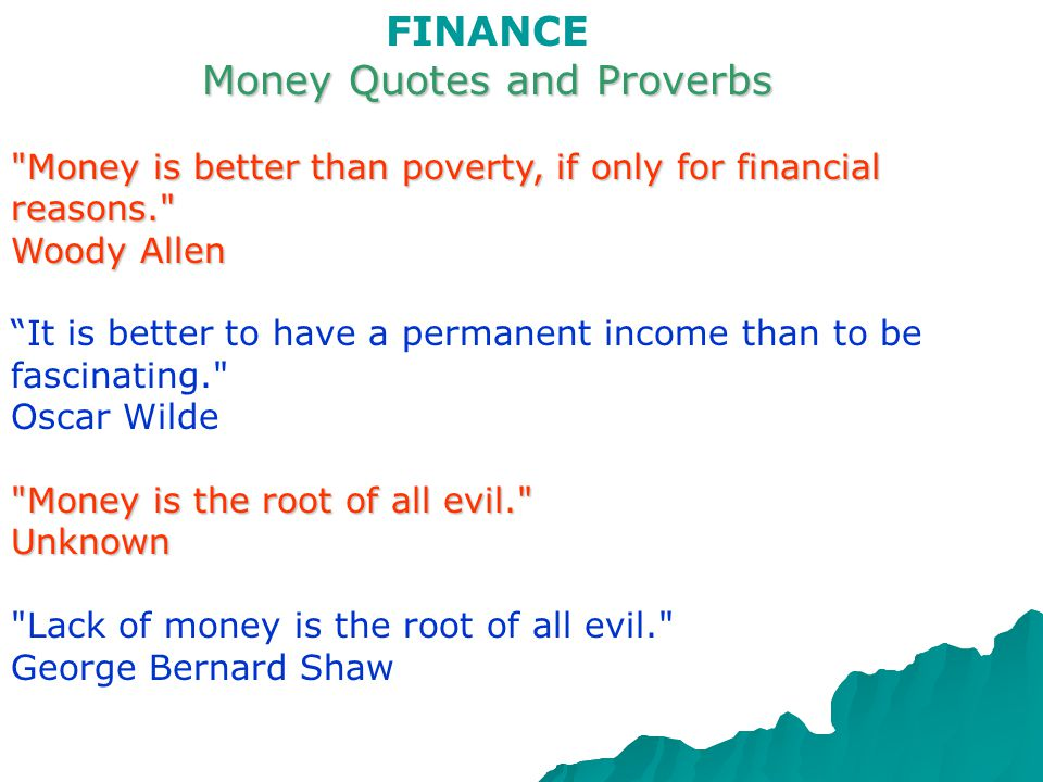 FINANCE English words connected with FINANCE