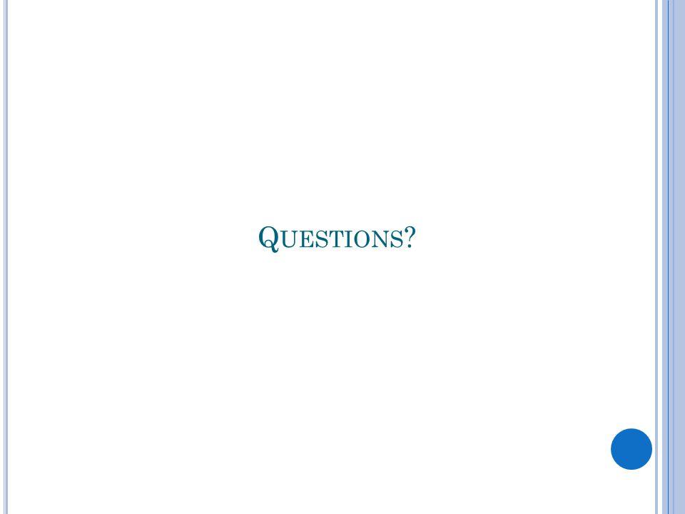 Q UESTIONS