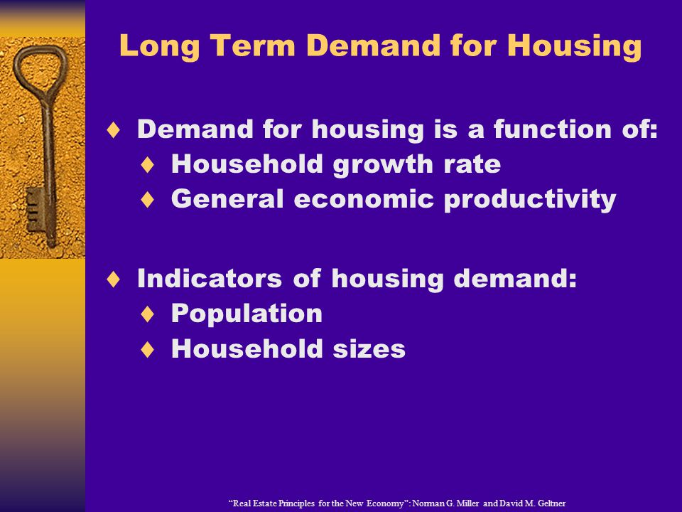 Real Estate Principles for the New Economy : Norman G.