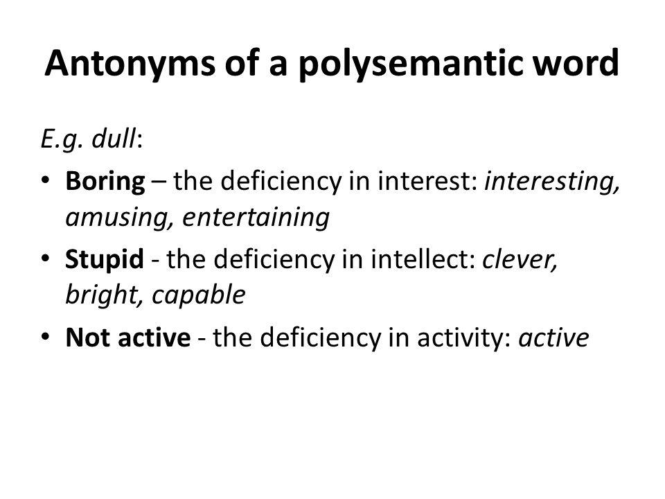 Structural classification of antonyms (V.N.Komissarov.