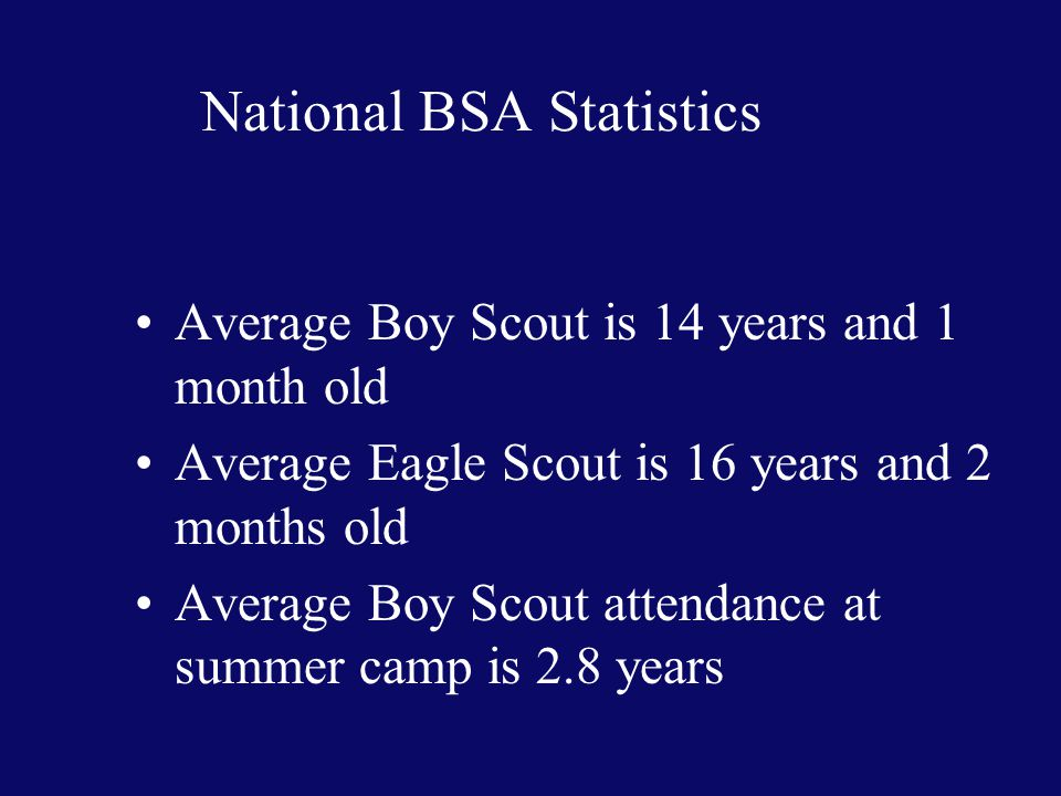 Scoutmaster Challenges Keeping 14 to 18 year old Boy Scouts engaged in the troop.
