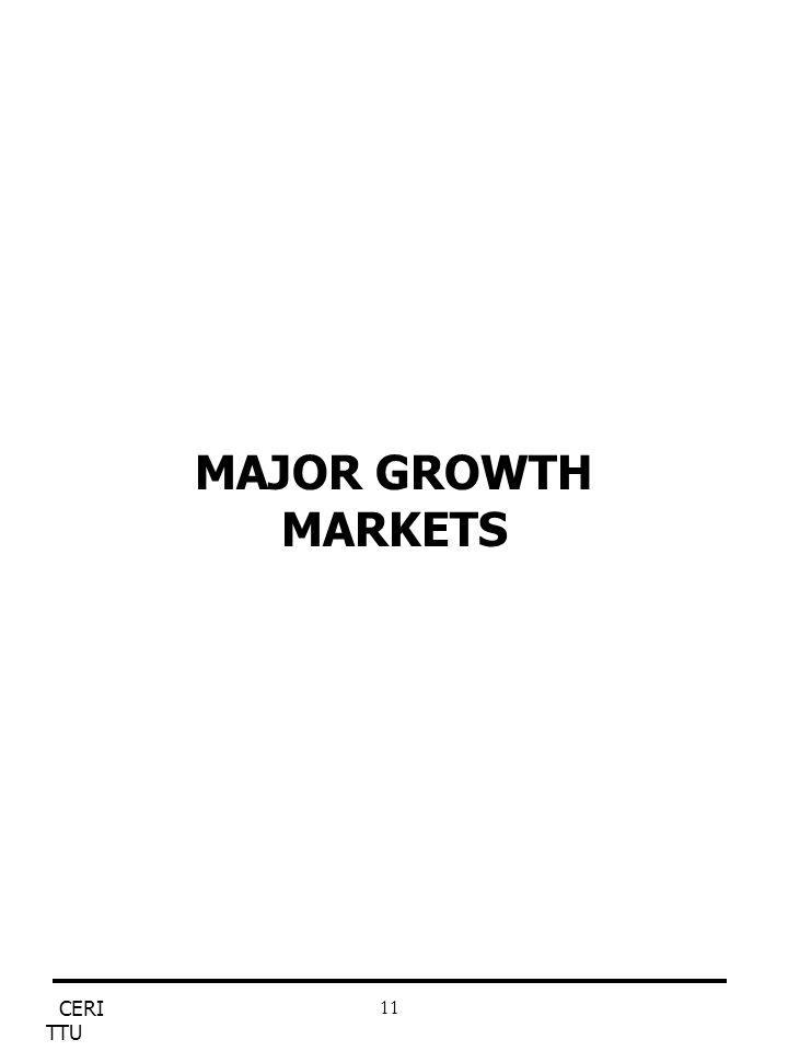CERI TTU 11 MAJOR GROWTH MARKETS