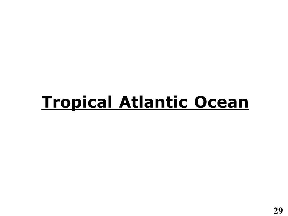 29 Tropical Atlantic Ocean