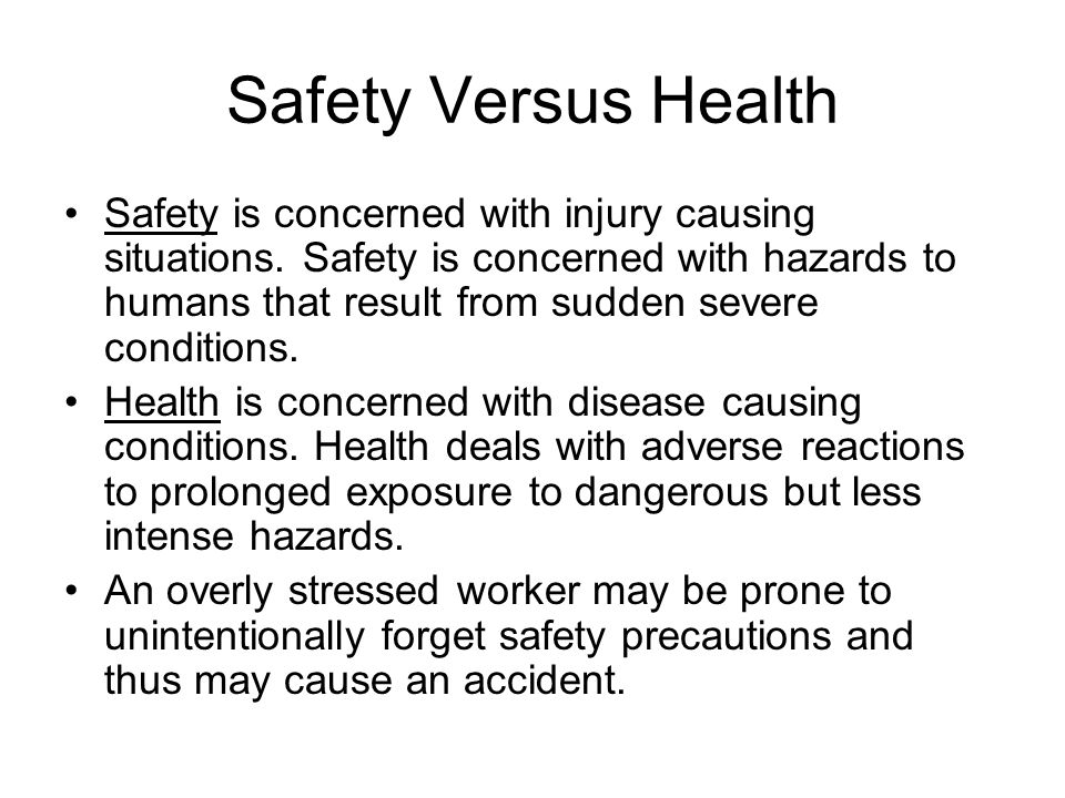 Causes of Improvement in Workplace Safety Improvements in safety have been the result of pressure for legislation to promote safety and health, the steadily increasing cost associated with accidents and injuries, and the professionalization of safety as an occupation.