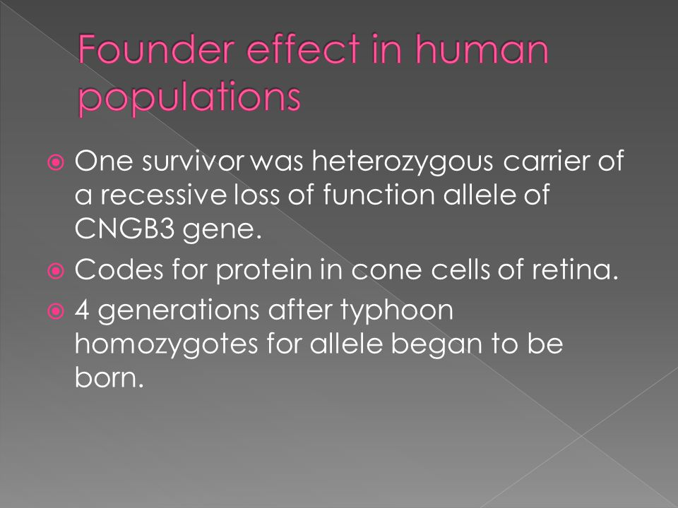  One survivor was heterozygous carrier of a recessive loss of function allele of CNGB3 gene.