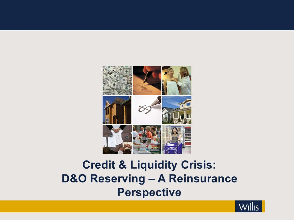 Credit & Liquidity Crisis: D&O Reserving – A Reinsurance Perspective