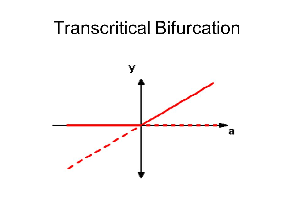 Transcritical Bifurcation