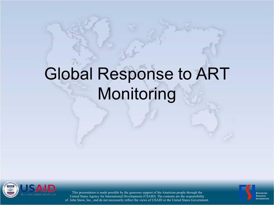 Global Response to ART Monitoring