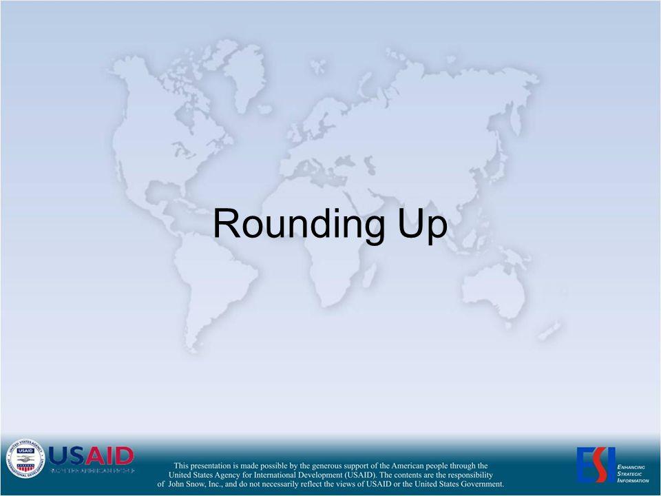 Rounding Up