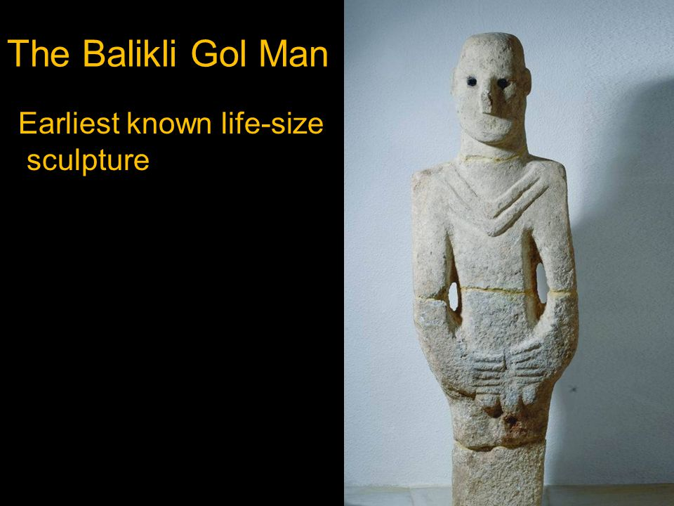 Earliest known life-size sculpture