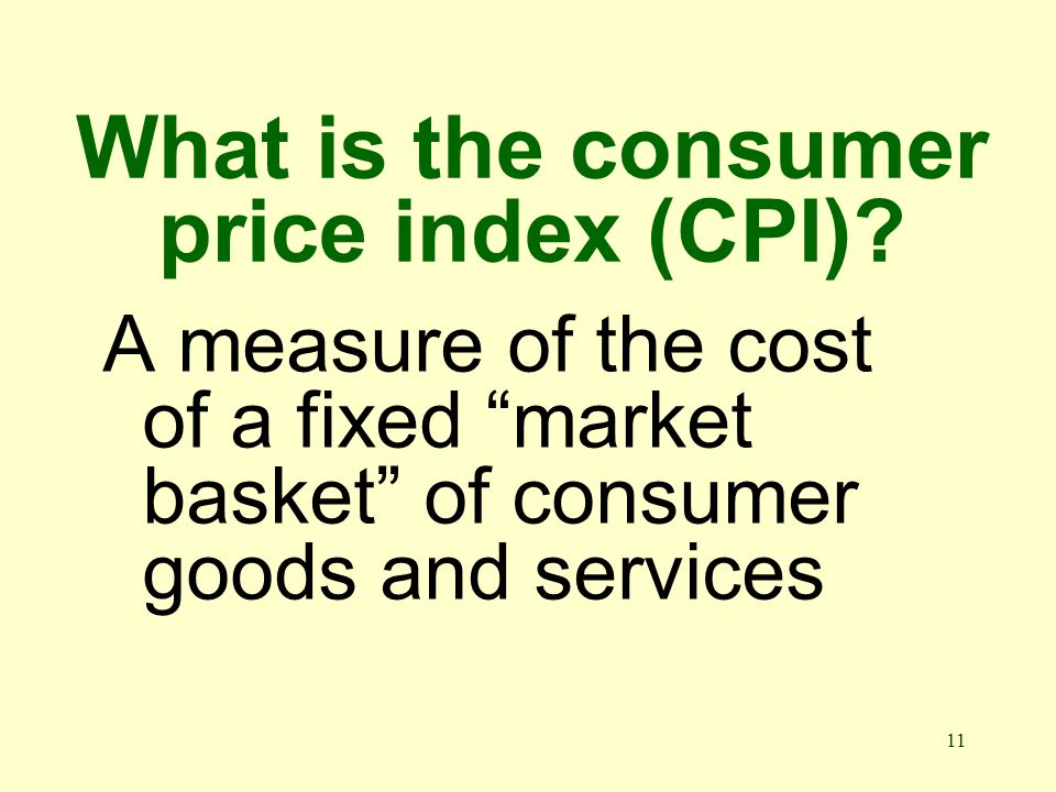 10 Who measures inflation It is published monthly by the Bureau of Labor Statistics
