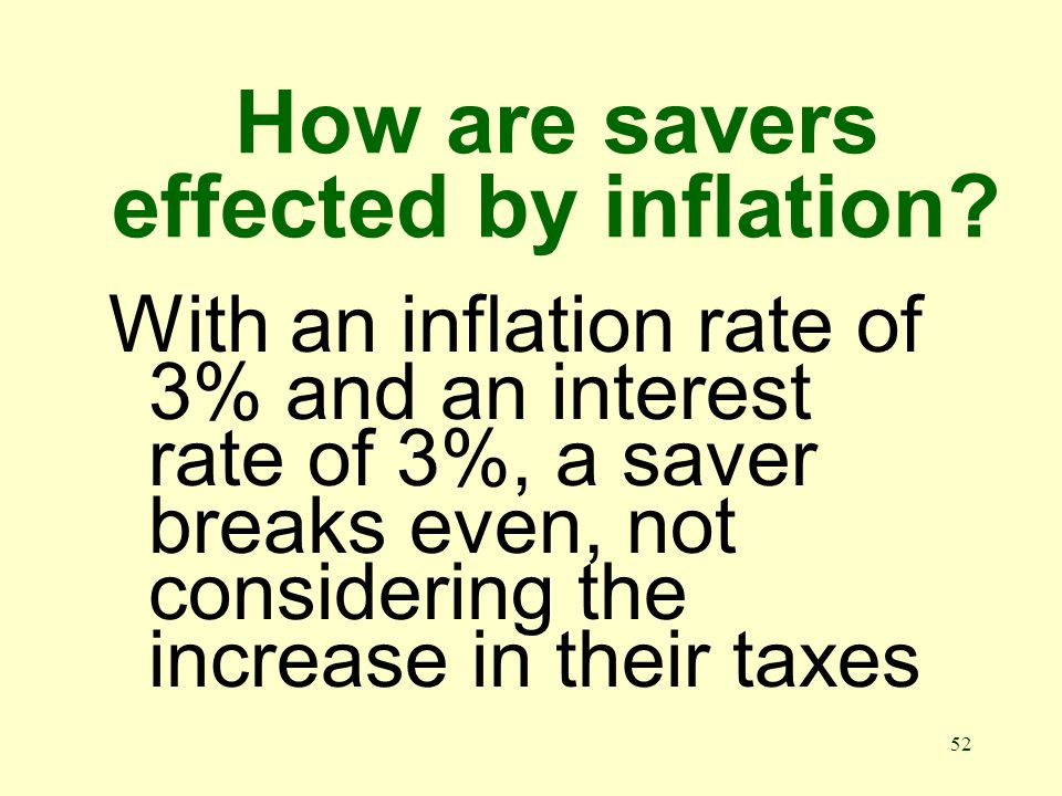 51 What is interest rate Interest per year as a percentage of the amount loaned or lent