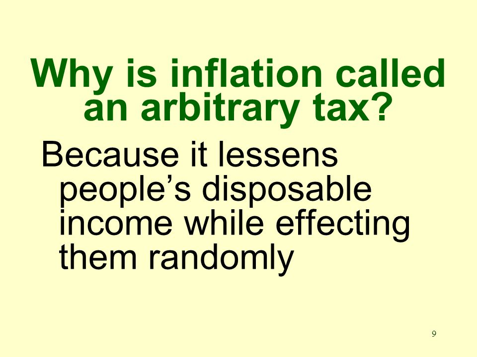 49 What is disinflation? A reduction in the rate of inflation