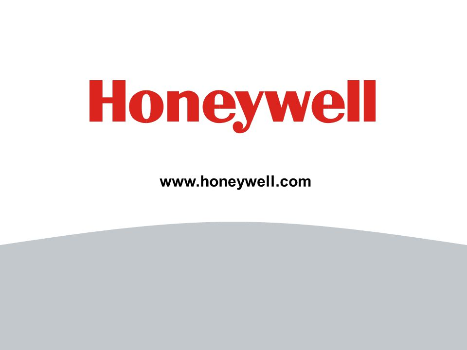 15 File Number www.honeywell.com