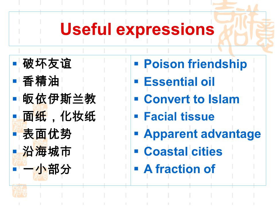 The Villain in the Atmosphere  Useful expressions  Text interpretation  Word family  Sentence structure  Translation  Reading skill  Guided wri