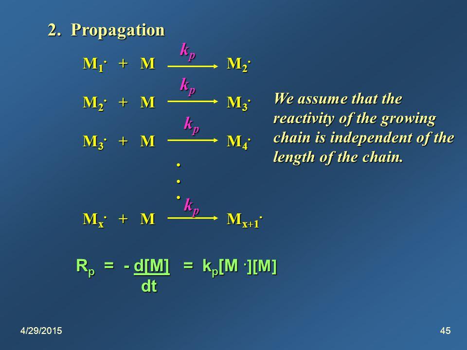 4/29/201545 2. Propagation M 1. + M M 2. M 2. + M M 3.