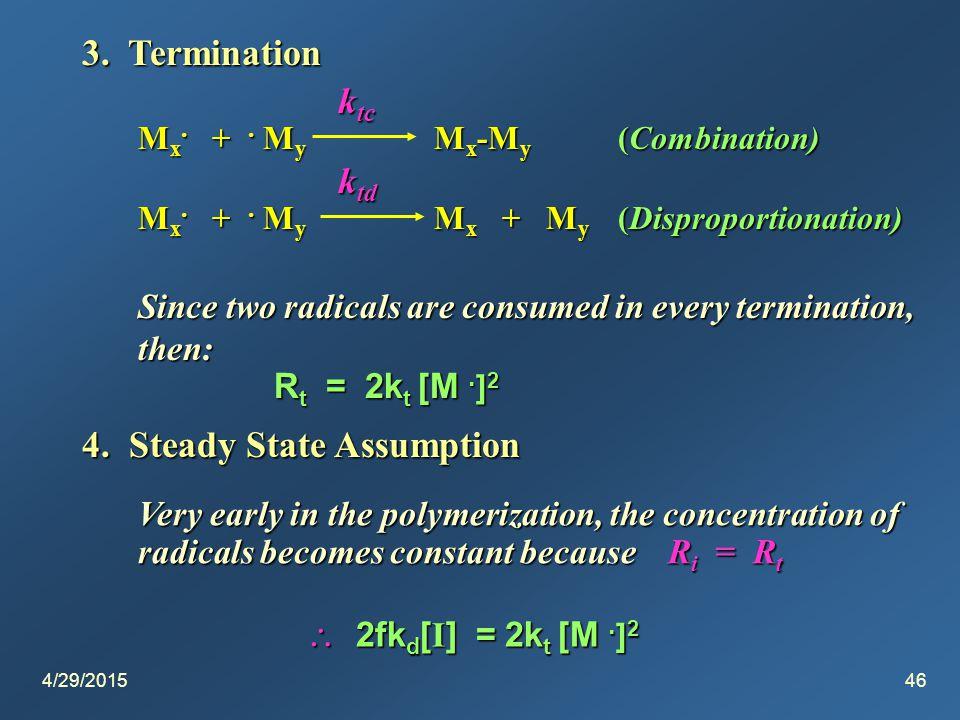 4/29/201546 3. Termination M x. +. M y M x -M y (Combination) M x.