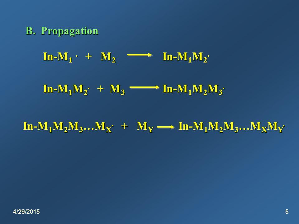 4/29/20155 B. Propagation In-M 1. + M 2 In-M 1 M 2.