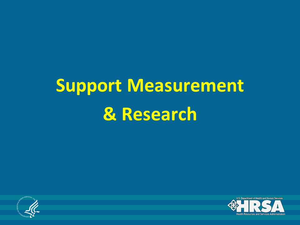 Support Measurement & Research