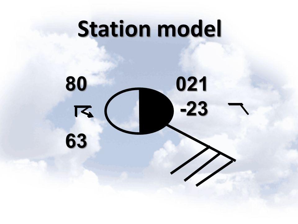 Station model 80 63 021 -23