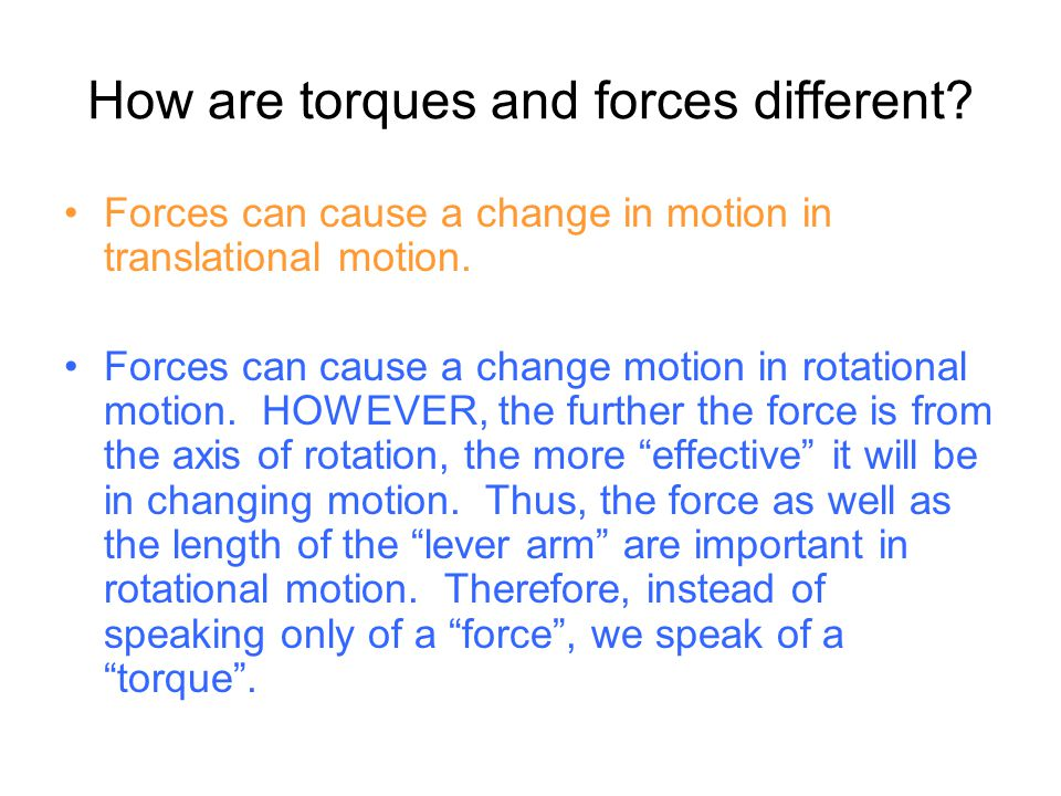 Newton's 2 nd Law (for a particle) The net torque on a particle is proportional to its ANGULAR acceleration.