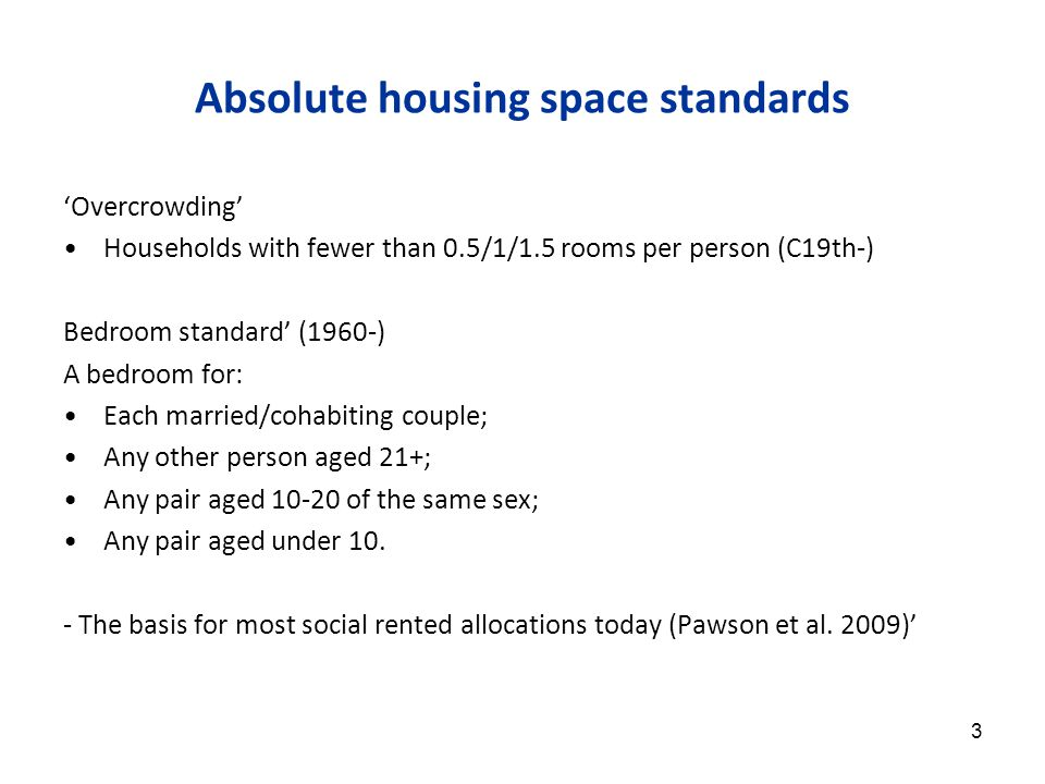 (2) The best-housed gained more from housing development, esp.